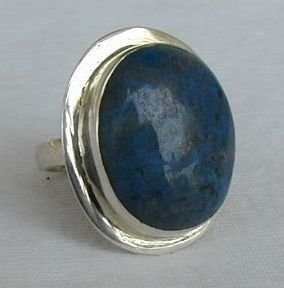 Gray-blue ring