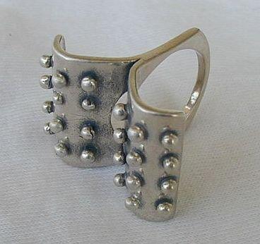 2parts silver ring