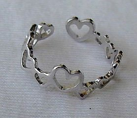 Hearts-adjustable  ring