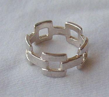 Ribueim silver ring