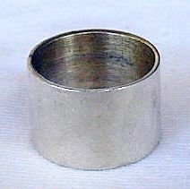 Siver band ring