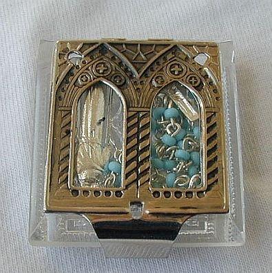 Mini clear Rosary box