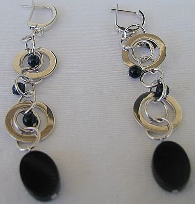 Massimo Ruaro onyx earrings