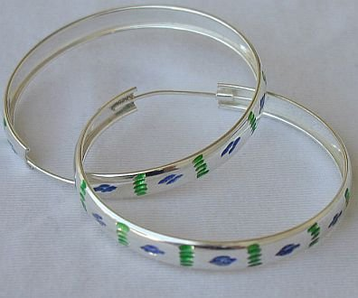 Green&blue hoops