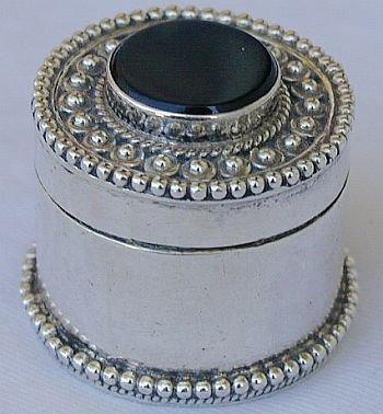 Mini round black box