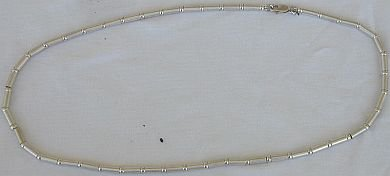 silver necklace-unisex