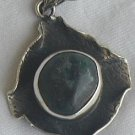 Dark green pendant