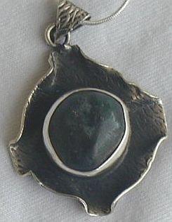 Dark green pendant