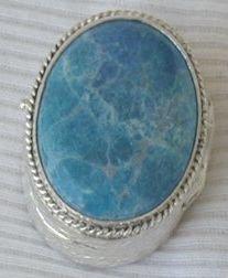 Decorative silver box - SR10
