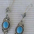 Turquoise dangling earrings