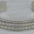 Ariel-LH silver bangle-unisex
