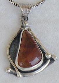 Amber pendant-AMB3