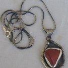 Blood stone pendant-G