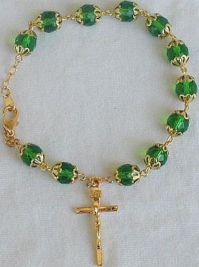 Peridot Rosary bracelet