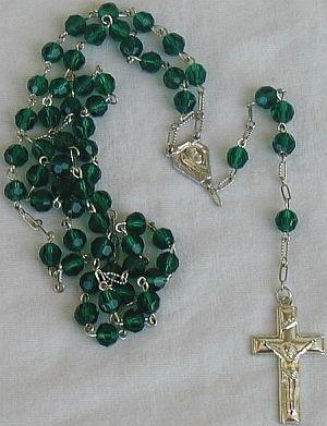 Green Rosary-P