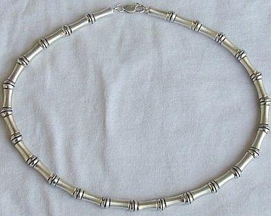 Shamir silver necklace-unisex