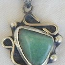 Green- pendant hand made-P13