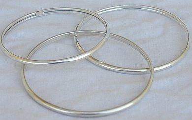Trio silver bracelet-LHE