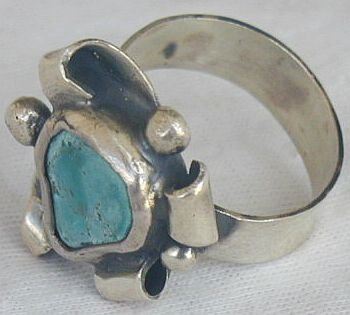 Eilat press stone ring-SR94