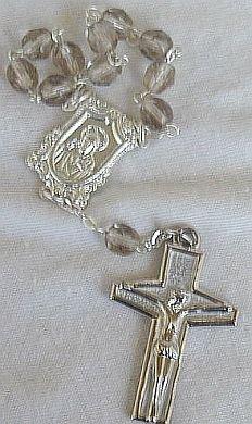 Mini diamond beads Rosary