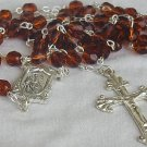 Brown beads Rosary