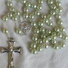 Peridot pearls rosary