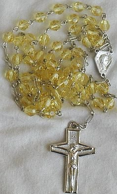 Yellow Rosary