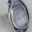 Purple glass ring-RHM-125