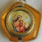 Mini rosary box-orange