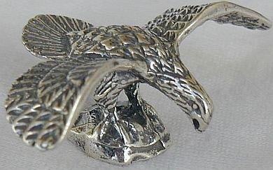 Eagle silver miniature