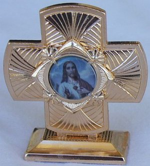 Mini Cross statue-A