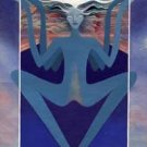 Artistic libra zodiac sign poster