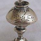 Antique lamp silver miniature