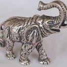 Elephant-A-silver miniature
