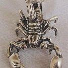Scorpion pendant-B