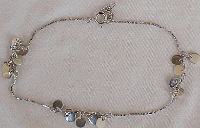 Anklet with charms-B