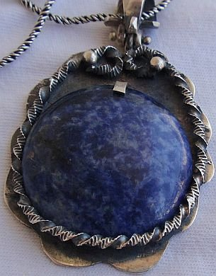 A beautiul lapis pendant