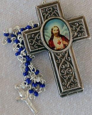 Cross-mini rosary box