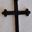 Cross with oynx surface