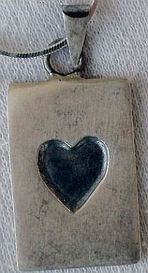 A unique  heart pendant