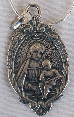 Mother and son pendant