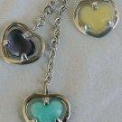 3 quartz herats MassinoRuaro necklace