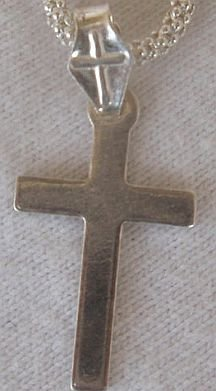Tiny silver Cross