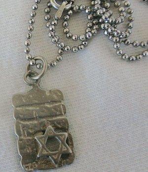 Kotel (The wailing wall) pendant
