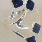 Blue branch ring