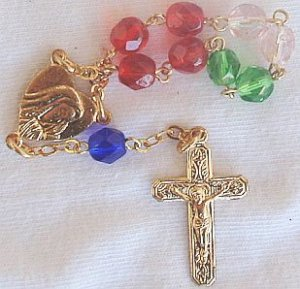 Mini colored Rosary