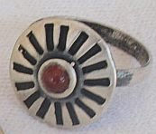 Red Oxidized ring