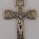 Silver metal Cross