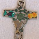 A decorative Cross with Christian themes