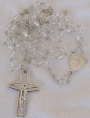 Clear beads Rosary A